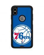Philadelphia 76ers Large Logo Otterbox Commuter iPhone Skin
