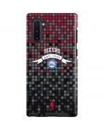 Philadelphia 76ers Pixels Galaxy Note 10 Pro Case