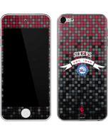 Philadelphia 76ers Pixels Apple iPod Skin