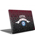 Philadelphia 76ers Pixels Apple MacBook Air Skin