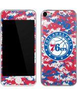 Philadelphia 76ers Red Digi Camo Apple iPod Skin