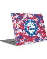 Philadelphia 76ers Red Digi Camo Apple MacBook Air Skin