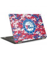 Philadelphia 76ers Red Digi Camo Dell XPS Skin