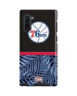 Philadelphia 76ers Retro Palms Galaxy Note 10 Pro Case