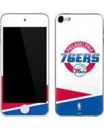 Philadelphia 76ers Split Apple iPod Skin