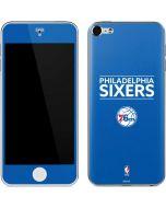 Philadelphia 76ers Standard - Blue Apple iPod Skin