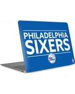 Philadelphia 76ers Standard - Blue Apple MacBook Air Skin
