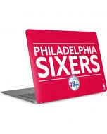 Philadelphia 76ers Standard - Red Apple MacBook Air Skin