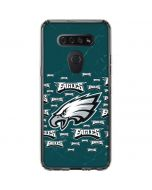 Philadelphia Eagles Blast LG K51/Q51 Clear Case