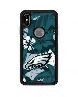 Philadelphia Eagles Tropical Print Otterbox Commuter iPhone Skin