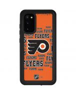 Philadelphia Flyers Blast Galaxy S20 Waterproof Case