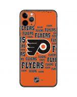 Philadelphia Flyers Blast iPhone 11 Pro Max Skin