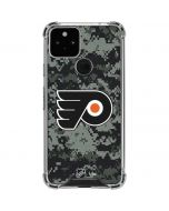 Philadelphia Flyers Camo Google Pixel 5 Clear Case