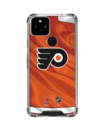 Philadelphia Flyers Jersey Google Pixel 5 Clear Case