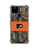 Philadelphia Flyers Realtree Xtra Camo Google Pixel 5 Clear Case