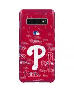 Philadelphia Phillies - Cap Logo Blast Galaxy S10 Plus Lite Case