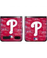 Philadelphia Phillies - Cap Logo Blast Galaxy Z Flip Skin
