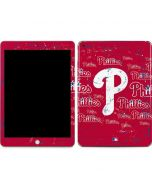 Philadelphia Phillies - Cap Logo Blast Apple iPad Skin