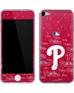 Philadelphia Phillies - Cap Logo Blast Apple iPod Skin