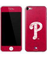 Philadelphia Phillies - Solid Distressed Apple iPod Skin