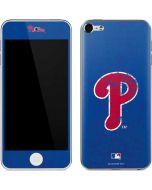 Philadelphia Phillies- Alternate Solid Distressed Apple iPod Skin