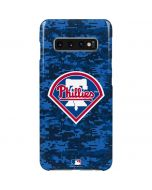 Philadelphia Phillies Digi Camo Galaxy S10 Plus Lite Case