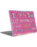 Philippians 4:13 Pink Apple MacBook Air Skin