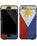 Philippines Flag Distressed LifeProof Nuud iPhone Skin