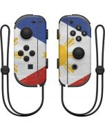Philippines Flag Distressed Nintendo Joy-Con (L/R) Controller Skin