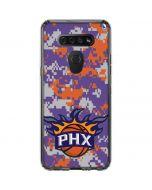 Phoenix Suns Digi Camo LG K51/Q51 Clear Case