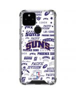 Phoenix Suns Historic Blast Google Pixel 5 Clear Case