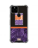 Phoenix Suns Retro Palms Google Pixel 5 Clear Case