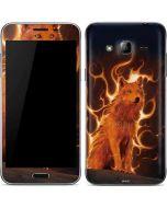 Phoenix Wolf Galaxy J3 Skin