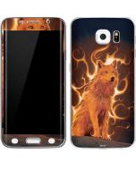 Phoenix Wolf Galaxy S6 Edge Skin