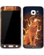 Phoenix Wolf Galaxy S6 Skin