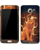 Phoenix Wolf Galaxy S7 Edge Skin