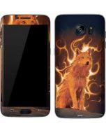 Phoenix Wolf Galaxy S7 Skin