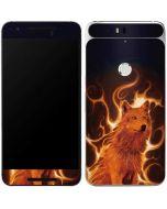 Phoenix Wolf Google Nexus 6P Skin