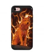 Phoenix Wolf iPhone 7 Wallet Case
