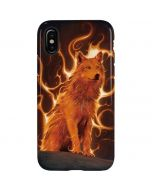 Phoenix Wolf iPhone X Pro Case