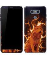 Phoenix Wolf LG G6 Skin