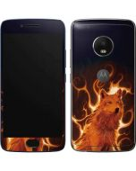 Phoenix Wolf Moto G5 Plus Skin