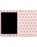 Pink and Red Hearts Apple iPad Skin