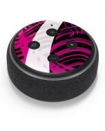 Pink and White Hipster Amazon Echo Dot Skin