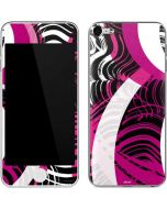 Pink and White Hipster Apple iPod Skin