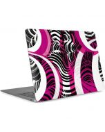 Pink and White Hipster Apple MacBook Air Skin