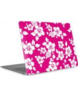 Pink and White Apple MacBook Air Skin