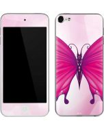 Pink Butterfly Apple iPod Skin