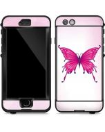 Pink Butterfly LifeProof Nuud iPhone Skin