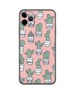 Pink Cactus iPhone 11 Pro Max Skin